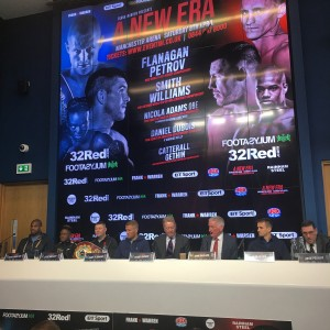 Bird Consultancy promote a boxing event with Frank Warren