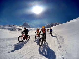 Snow cycling - sports PR by Bird Consultancy